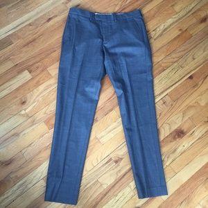 J. Crew Pants - J. Crew Bowery Grey Wool Slim Dress Pants